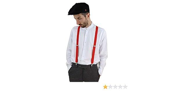 Mens Classic Vintage Retro Trouser Braces Suspenders 1920s Gatsby Peaky Blinders