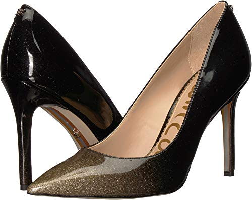 Sam Edelman Women's Hazel Gold Degrade Crystal Patent 8.5 W US
