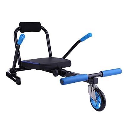 Asiento Hoverboard, Kart para Patinete Eléctrico Accesorios para Kart Seat Go de Kart Scooter eléctrico