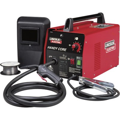 Lincoln Electric Handy Core 115V Flux Cored Welder Kit - 70 Amp Output, Model...