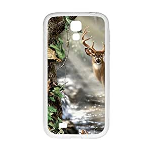 Hall stream Deer Fahionable And Popular Back Case Cover For Samsung Galaxy S4 in GUO Shop