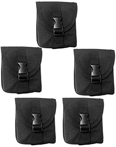 ダイブ重量ベルトポケット 全3色 汎用 実用 耐久性 バックル付き 5ピース
