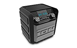 Ion Audio Tailgater Express | Compact Water-resistant Wireless Speaker System With Amfm Radio & Usb Charge Port (20w)