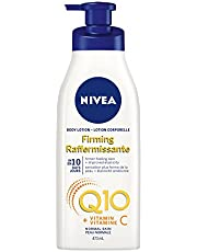 NIVEA Q10 + Vitamin C Firming Body Lotion for Normal Skin (473 mL), Firming Moisturizing Skin Care Formula, Antioxidant Enriched Body Cream Provides Firmer-Feeling Skin in Just 10 Days