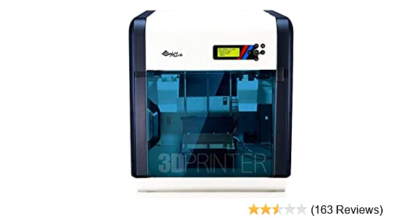 "da Vinci 2.0 Duo 3D Printer ~ 6"" x 8"" x 8"" Built Volume (ABS/PLA/Dissolvable PVA) – Two Extruder Nozzle"