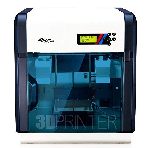 "da Vinci 2.0 Duo 3D Printer ~ 6"" x 8"" x 8"" Built Volume (ABS/PLA/Dissolvable PVA) – Two Extruder Nozzle"