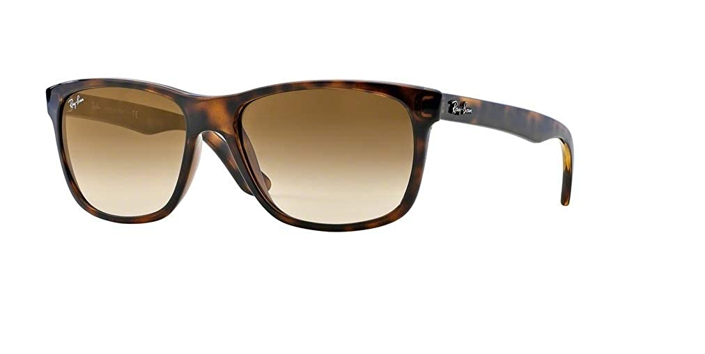 92a3a45ece Amazon.com  Ray-Ban RB4181 710 51 57M Light Havana Brown Crystal Gradient  Sunglasses For Men For Women  Clothing