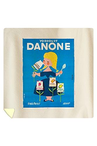 danone-vintage-poster-artist-gauthier-france-c-1955-88x88-queen-microfiber-duvet-cover