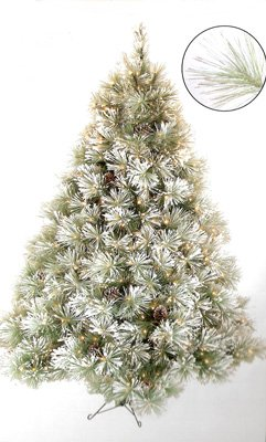 7 1/2' Snowy Yukon Pine Christmas Tree