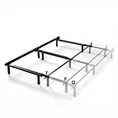 The Michelle Compack Adjustable Metal Bed Frame by Zinus offers easily assembled, dependable support for your box spring and mattress set. This adjustable bed frame is built with a center support bar and three middle legs for additional stabi...
