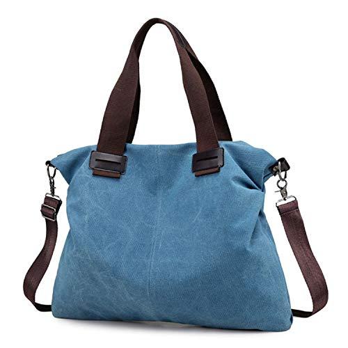 Messenger Canvas Tote Bag For Women Handbags Bao Bao Ladies Crossbody Shoulder Bag Bolsos Mujer Hand Bags 2018,Blue