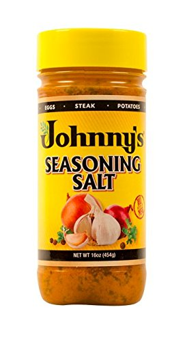 Johnny's Seasoning Salt, 16 Ounce (Pack of 12) by Johnny's