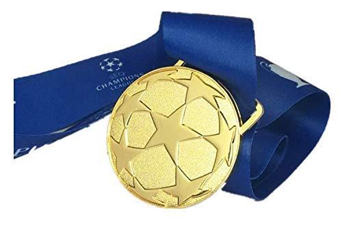 best badge Rare Soccer Liverpool 2019 UEFA Champions Europe Football Final KOP Gold Medal Badge