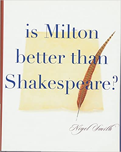 Amazoncom Is Milton Better Than Shakespeare