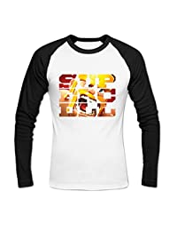 Men's Clash Of Supercell Clans Baseball Cotton T Shirt