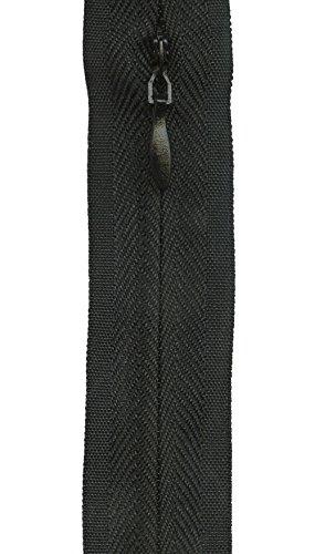 Black Invisible Tape - Sullivans Invisible Make-A-Zipper Kit, 4-1/2 yards, Black