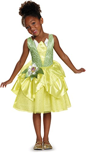 Tiana Classic Disney Princess & The Frog Costume, Small/4-6X