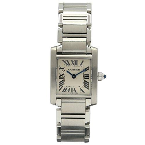 Cartier Tank Francaise swiss-quartz womens Watch (Certified Pre-owned)