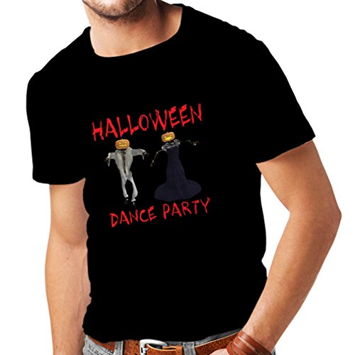 T Shirts for Men Cool Halloween Party Events Costume Ideas, (XX-Large Black Multi Color) ()
