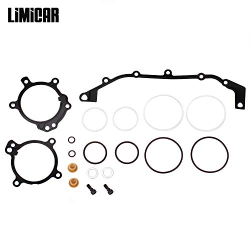 LIMICAR DUAL Stage 3 VANOS Camshaft Cover O-Ring Seal Repair Kit Compatible with BMW E36 E39 E46 E53 E60 E83 E85 M52tu M54 M56 ()
