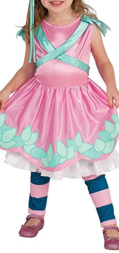 Gown Short Sleeved Costumes (Joddie Haha Costume Little Charmers Posie Child Costume, Medium)