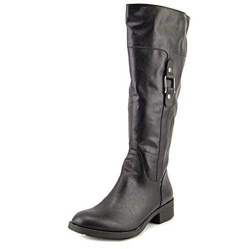 Style & Co.. Womens ASTARIE Closed Toe Knee High Riding Boots, Black, Size 5.0
