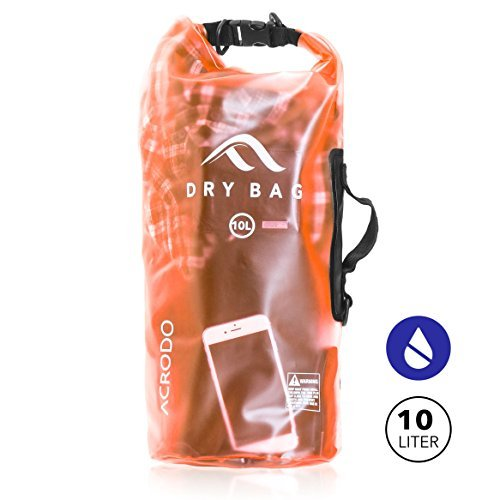 New Acrodo Waterproof Dry Bag Transparent 10 Liter - Cool Camo Stuff