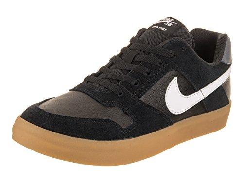 Black Vulc de Delta Skateboard Vert Nike 005 Multicolore Chaussures Gum Homme Force Ligh White wqETnzzIS