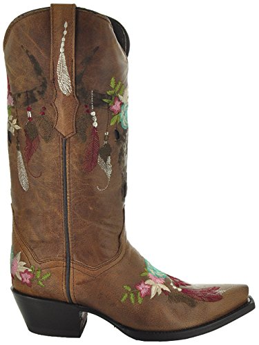 Longhorn by Soto Women's M50029 Cowgirl Boots Boots Fashion gq1gwZY5Wx