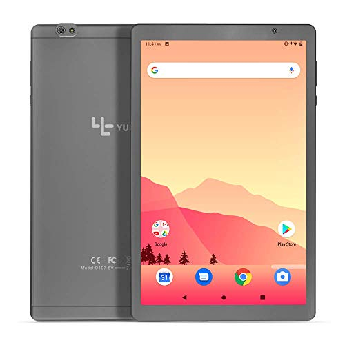 YUNTAB 10.1 inch Tablet PC, 1.6 GHz Octa Core CPU, Android 9.0, 2GB RAM 32GB ROM, 8001280 IPS Touch Screen, with WiFi…