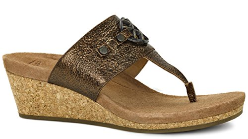 Heel th style Brown combine Easy in Sandal comfort and Ugg going Briella Mid Women's OtwqH7x0x