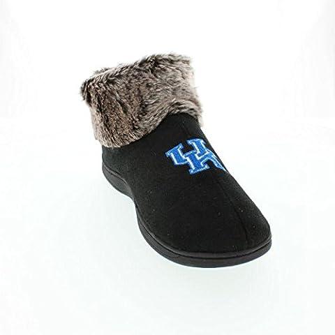 KEN14-4 - Kentucky Wildcats Faux Sheepskin Furry Top Slippers - XL