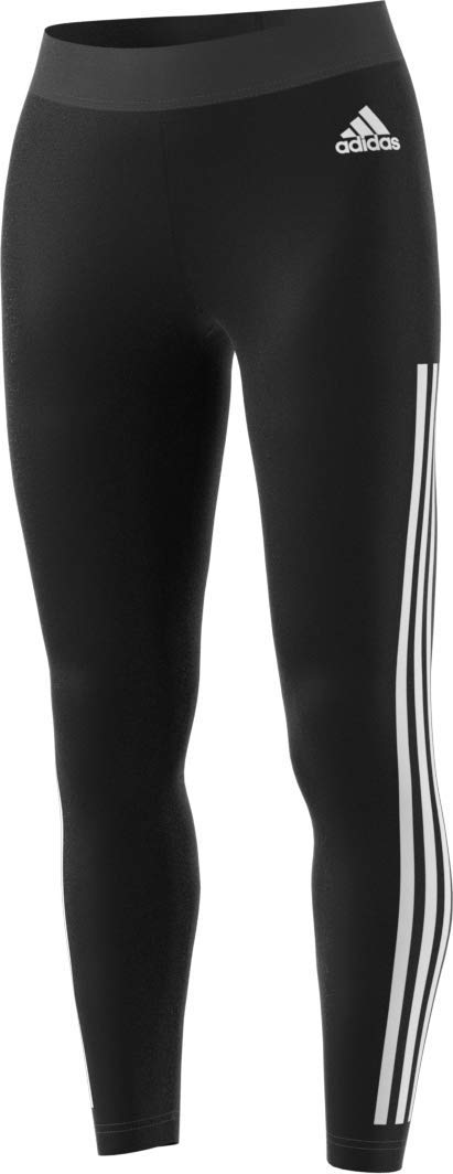 adidas Women's Must Haves 3-Stripes Tights, Black/White, Medium by adidas