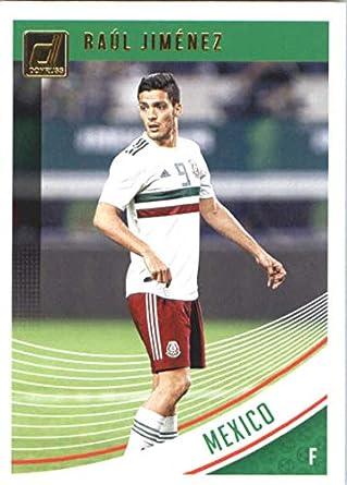 2018-19 Donruss Soccer Optic Base #150 Raul Jimenez Mexico Voetbal