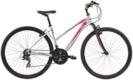 Ford Kuga Ht Hybrid - Bicicleta para mujer, color Silver / Pink, tamaño 15 pulgadas, tamaño de rueda 28.00: Amazon.es: Deportes y aire libre