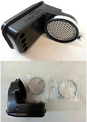 Caja filtro de aire carburador Piaggio Vespa PK 50/125 cc.: Amazon ...