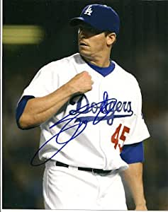 Autographed Signed Scott Proctor Los Angels Dodgers 8x10