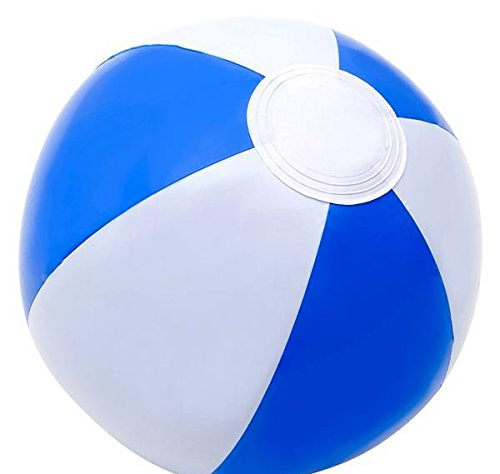 DollarItemDirect 10'' Blue&White Beach Ball, Case of 432