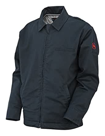 Benchmark Men's Flame Resistant Insulated Bomber Jacket,  HRC 3, NFPA 2112, Navy, 3X-Large
