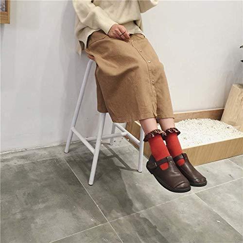 Amazon.com: Blue Stones Lace Socks Art Elegant Style Meias Feminino Mesh Korean Style Women Socks Calcetines Mujer: Kitchen & Dining