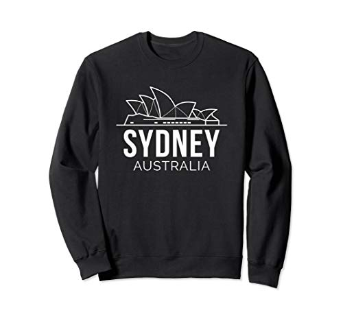 Sydney Australia Opera House Aussie Love Sweatshirt (Map Of Sydney Australia And Surrounding Area)