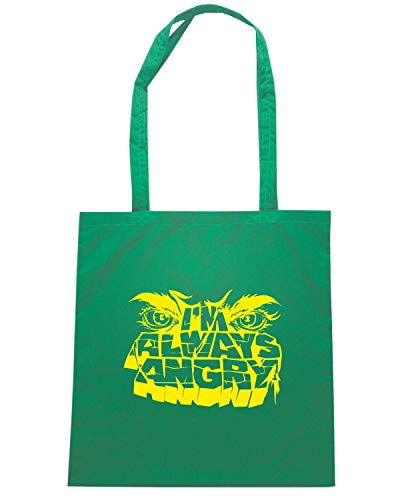 Speed Shopper Verde ALWAYS Shirt FUN0253 Borsa ANGRY 77qR0rH