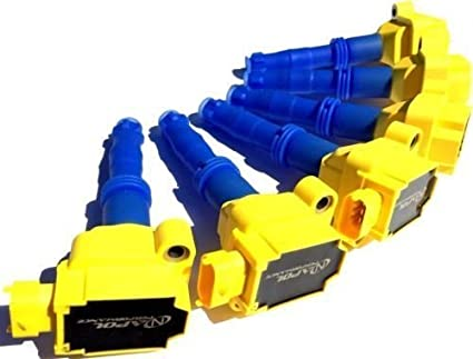 Pack Of 6 Ignition Coils Pack PORSCHE 996 997 987 GT3 BOXSTER CAYMAN CARRERA Turbo High Performance Coil Set 1997 2009 911 Turbo Non