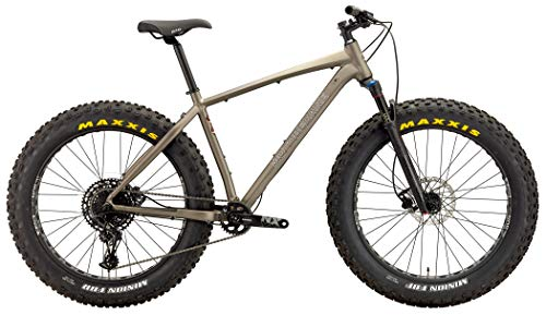 Motobecane 2019 Sturgis NX Eagle Bullet 1X12 Aluminum Fat Bike with Powerful Disc Brakes Fat Tire Bicycle 26