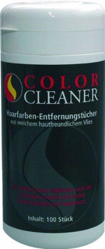 Coolike Color Cleaner - Toallitas quitamanchas para tinte de pelo en bote reutilizable (100 unidades