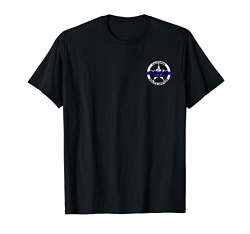 (California Police Officer's Department T-Shirt for)