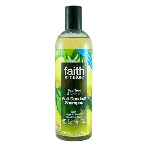 Confidence in the natural Anti-Dandruff Shampoo Lemon & Tea Tree 400ml Faith in Nature
