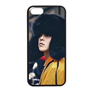 FUNKYCAT G-Dragon Personalised Classic Otterbox Soft TPU Bumper with Hard Shell Custom Case for iPhone 5,5S TPU (Laser Technology)
