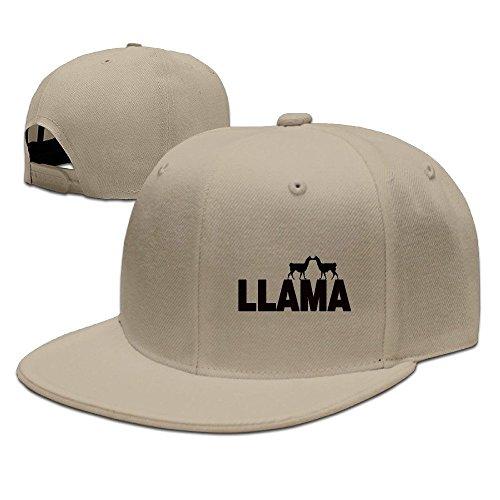 Happy Llama Twaimz Snapback Caps Flat Brim Hip-Hop Cap