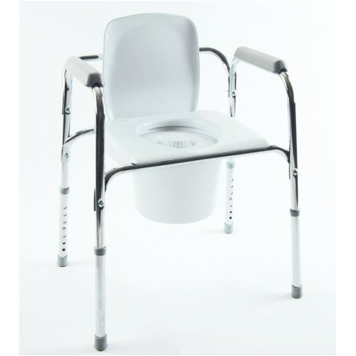 INVACARE CORPORATION All-In-One Aluminum Commode QTY: 1